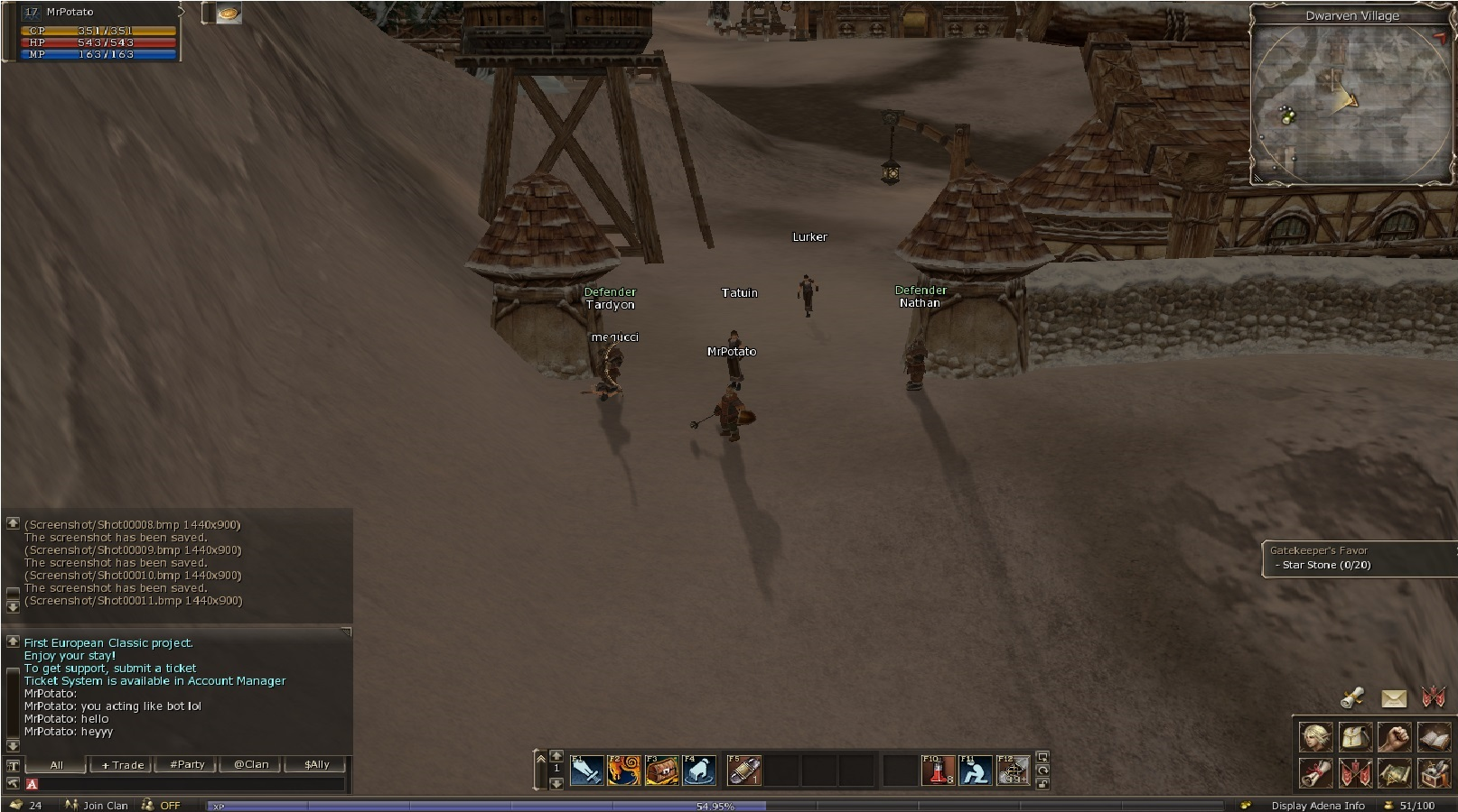 lineage 2 in game bot
